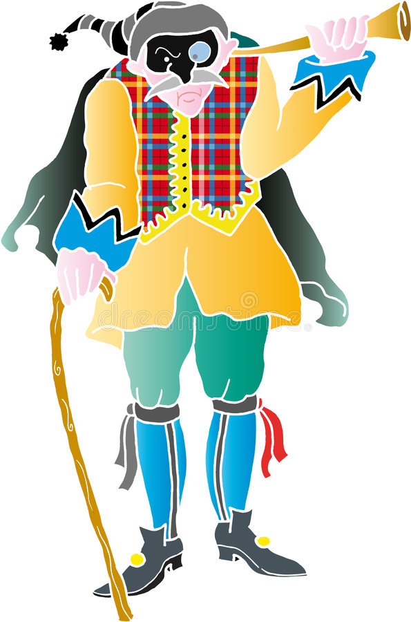 tabarrino de masque illustration de vecteur