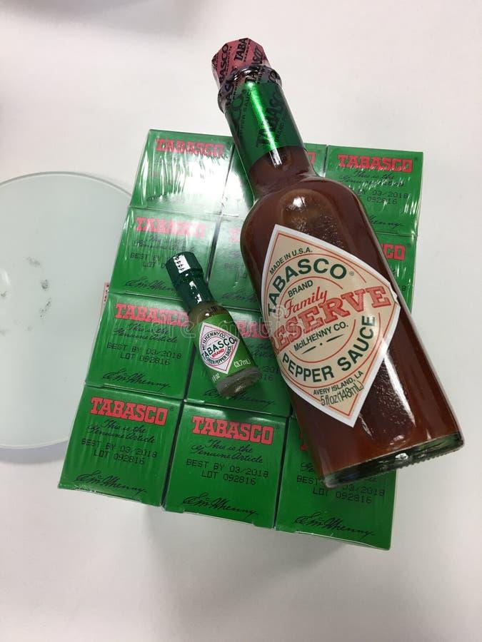 tabasco photo stock
