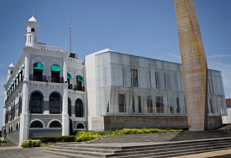 Tabasco | Mexico - Palacio de Gobierno royaltyfri foto
