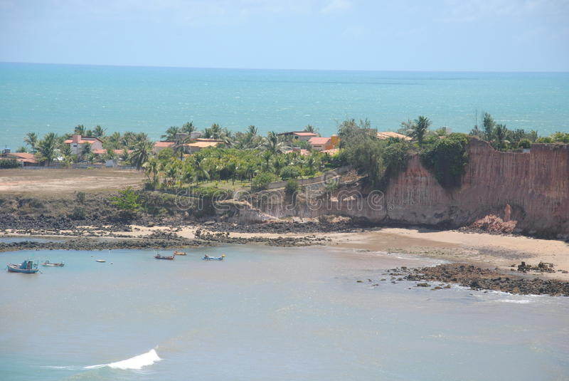 Tabatinga海滩 图库摄影