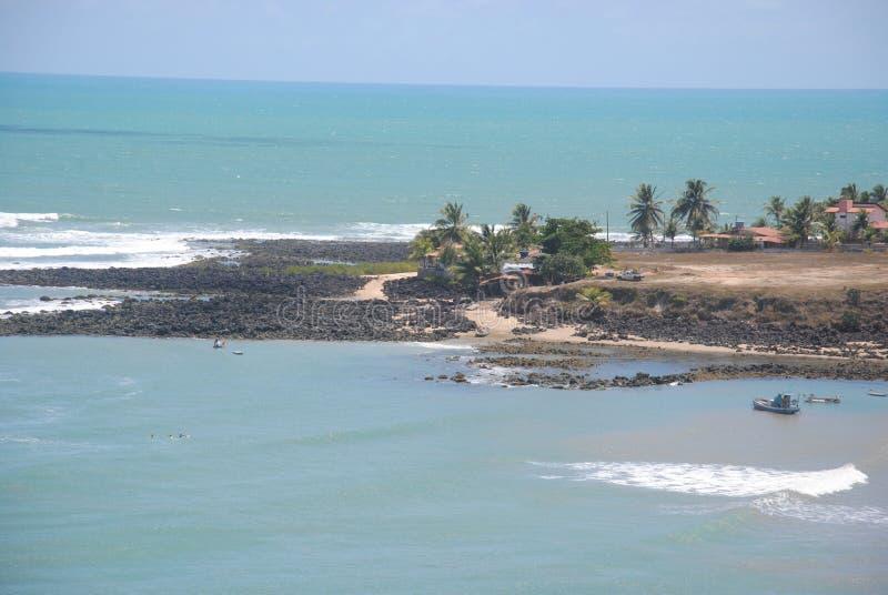 Tabatinga海滩 免版税图库摄影