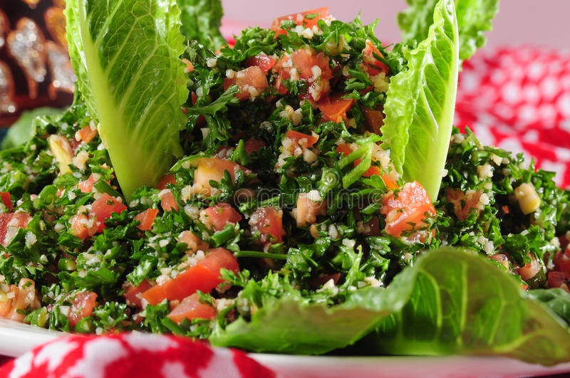 Tabbouleh. Cold salad appetizer from the middle east