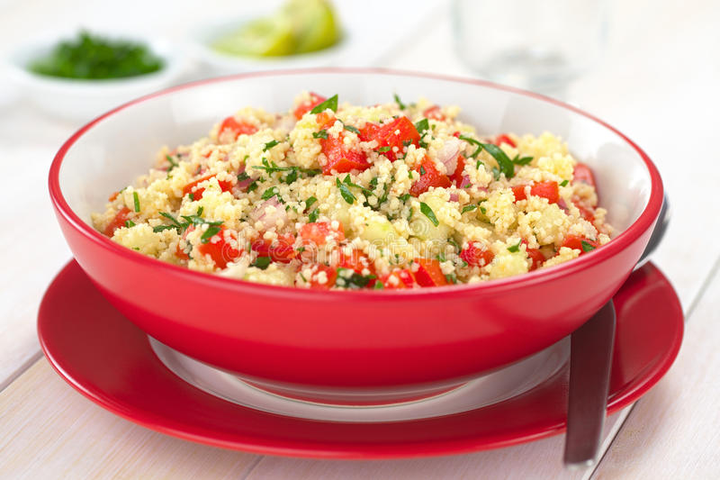 Tabbouleh Salad royalty free stock photo