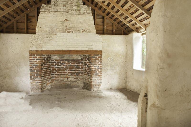 Tabby Ruins Interior royalty free stock photo