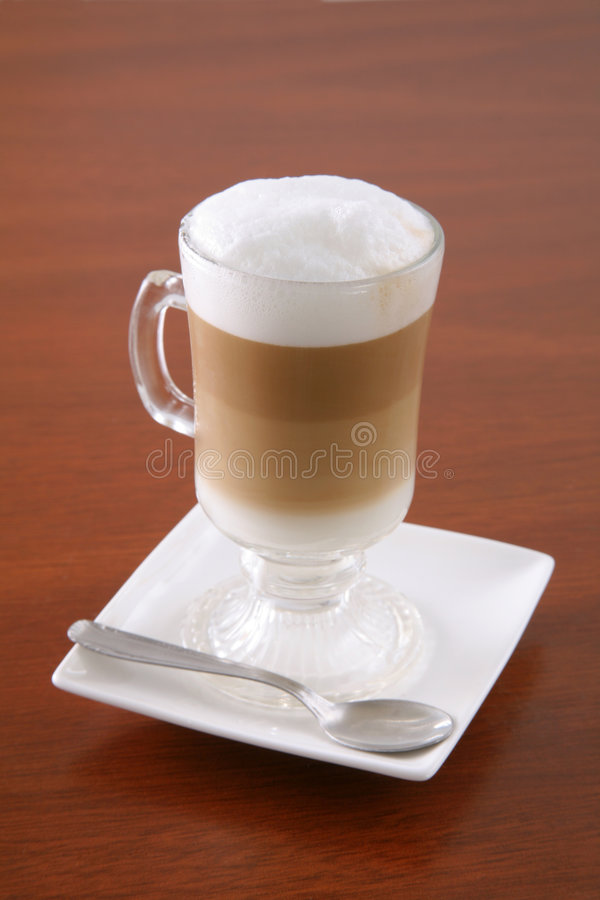 tabela cappuccino, obrazy royalty free