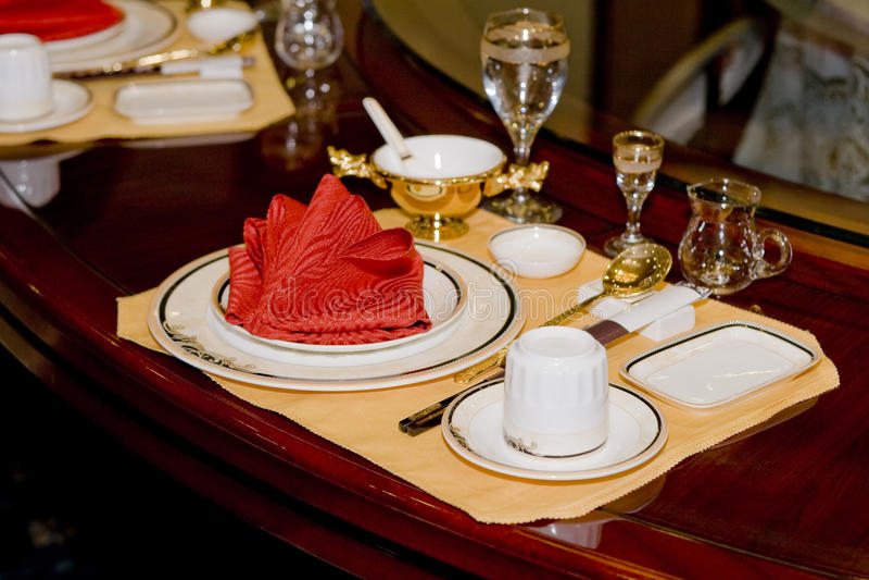 Tabela de banquete foto de stock royalty free