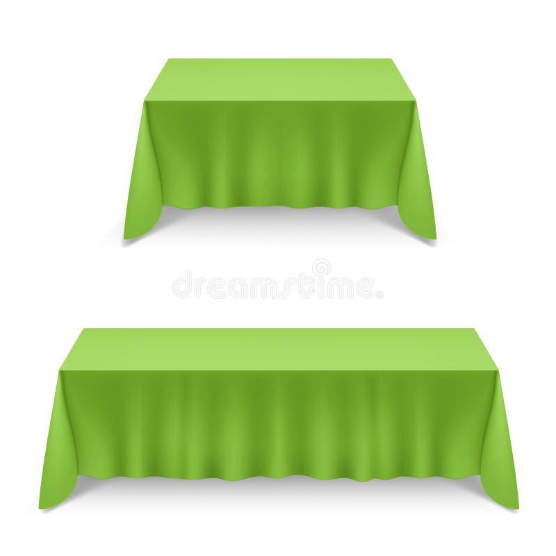 tabela de jantar ilustração stock