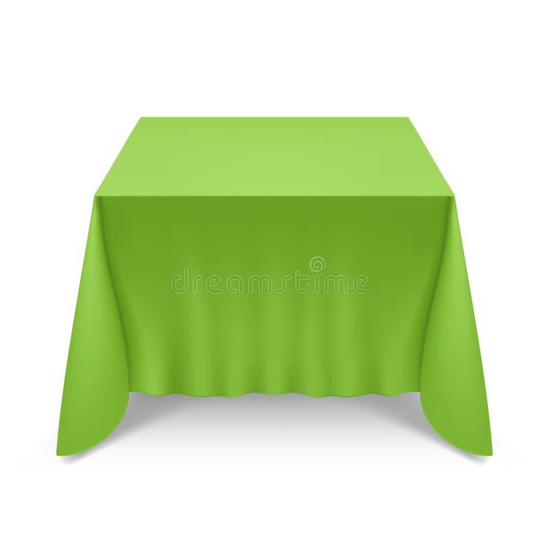 tabela de jantar ilustração royalty free