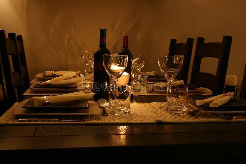Tabela de jantar fotos de stock royalty free