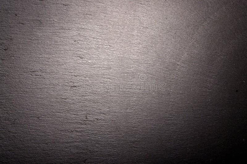 Tabela de pedra Giz friccionado para fora no quadro-negro para o fundo a textura para adiciona o texto ou o projeto gráfico alime imagens de stock