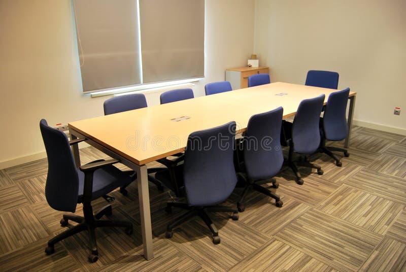 Tabela de reunião fotografia de stock