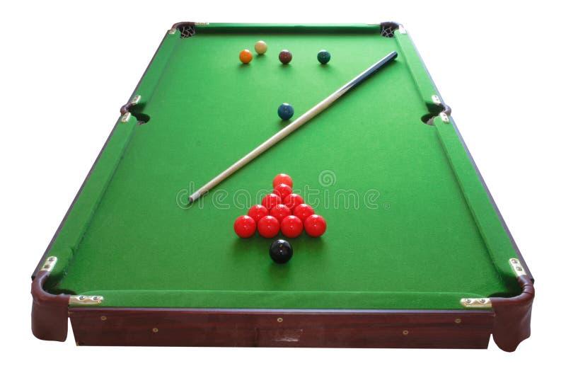 Tabela De Snooker Fotografia de Stock Royalty Free