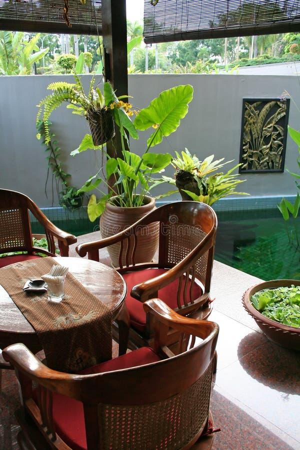 Tabela do Balinese fotos de stock royalty free