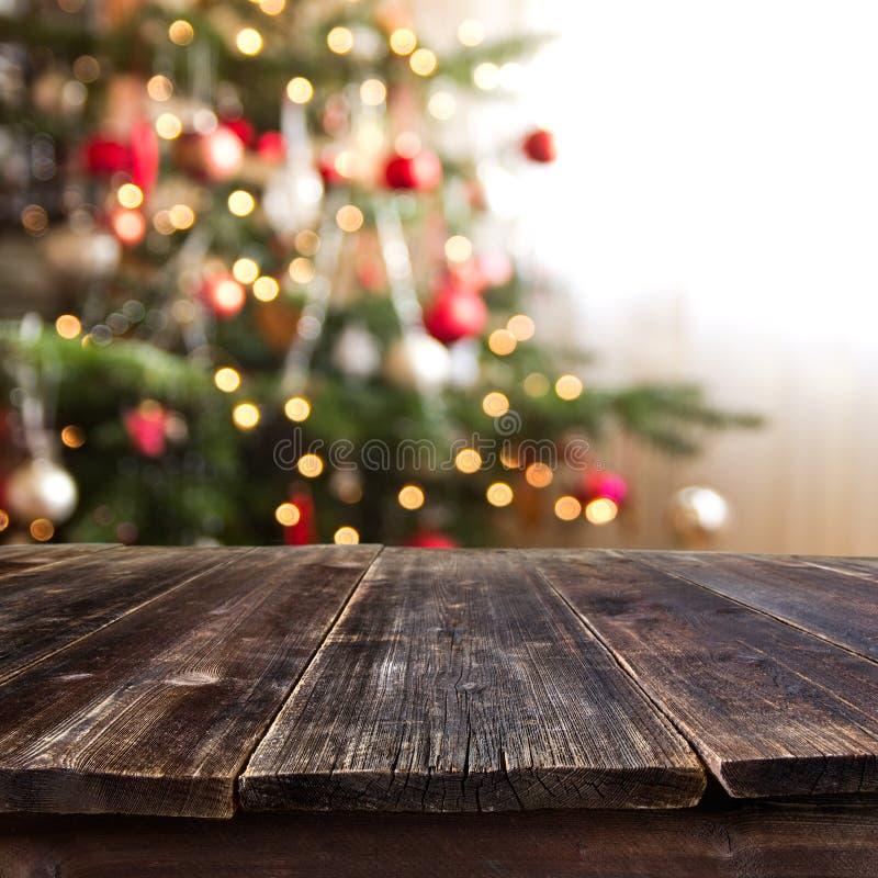 Tabela do Natal imagem de stock
