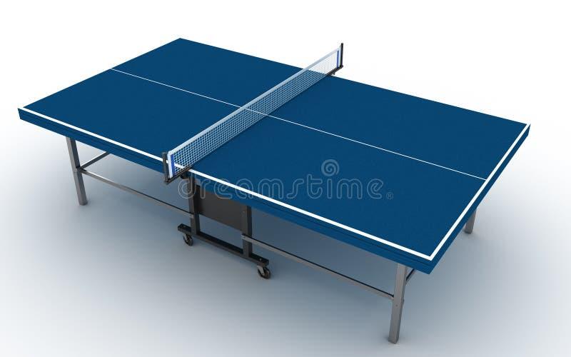 Tabela do pong do sibilo no branco imagens de stock royalty free