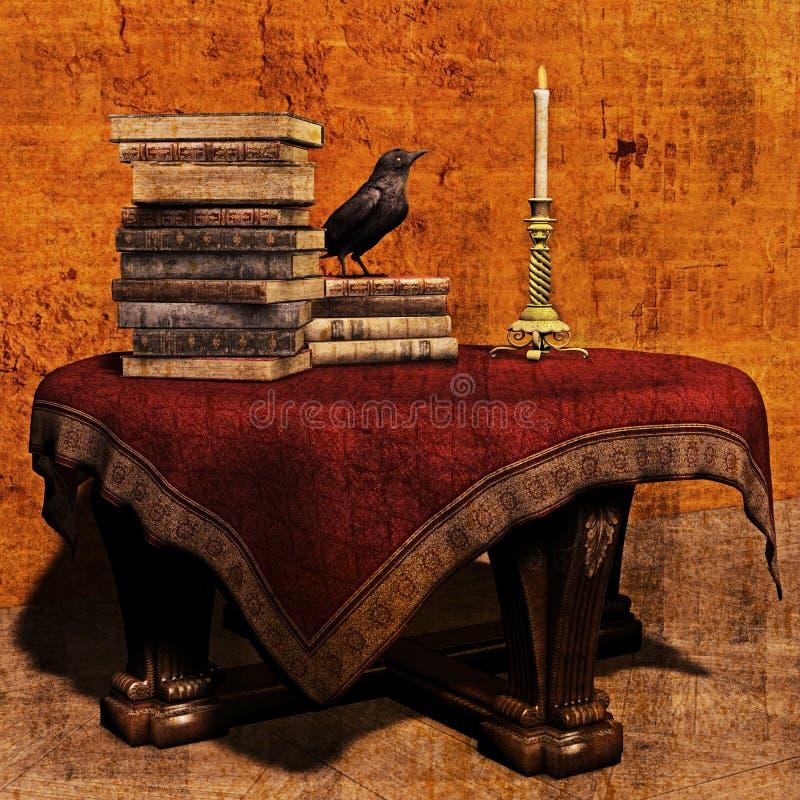 Tabela dos feiticeiros ilustração royalty free