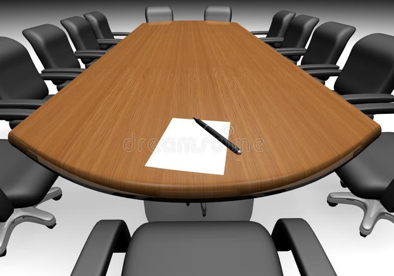 tabela konferencji ilustracji