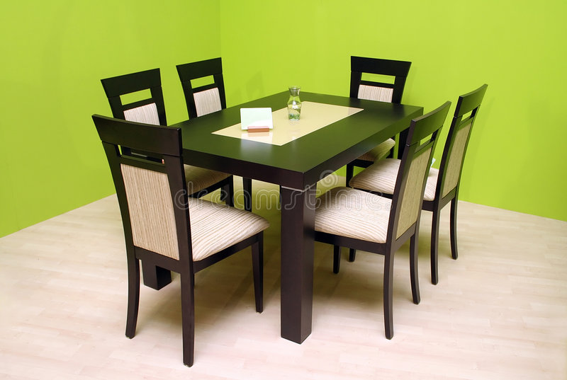 tabela krzesło zdjęcia stock