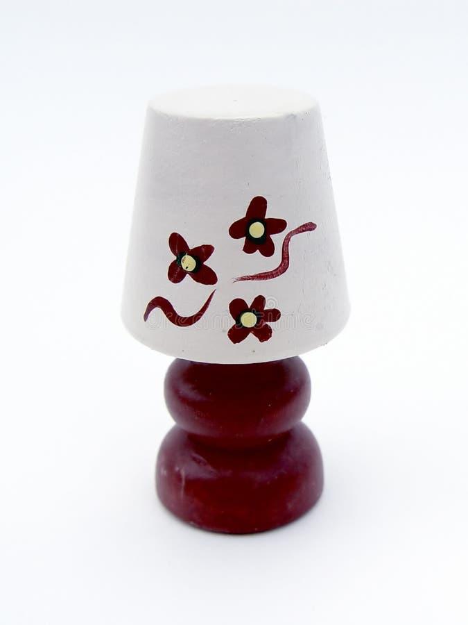 tabela lampy dekoracyjny obraz stock