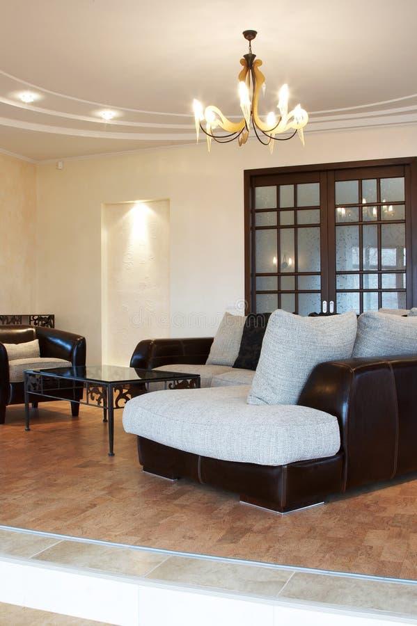 tabela sofa kawy zdjęcie stock
