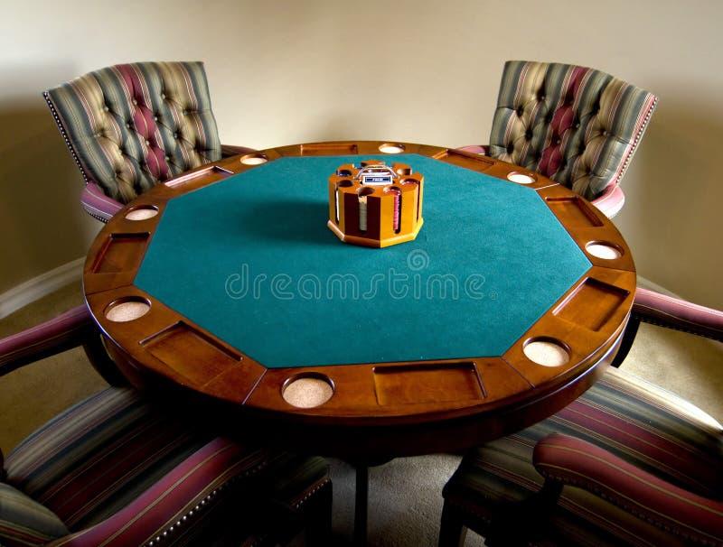 tabela w pokera. zdjęcie stock