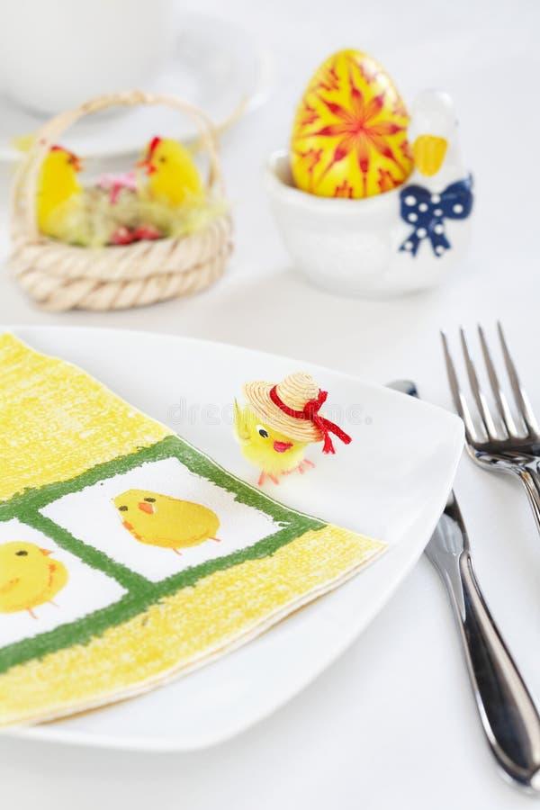 tabela Wielkanoc dekoracji zdjęcie royalty free