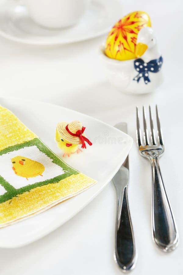 tabela Wielkanoc dekoracji obraz stock