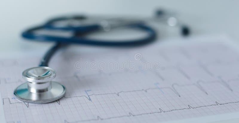Tabell för workspace för doktors` s funktionsduglig med den tålmodiga formen för tomt papper för urladdning för ` s, medicinskt r royaltyfria foton