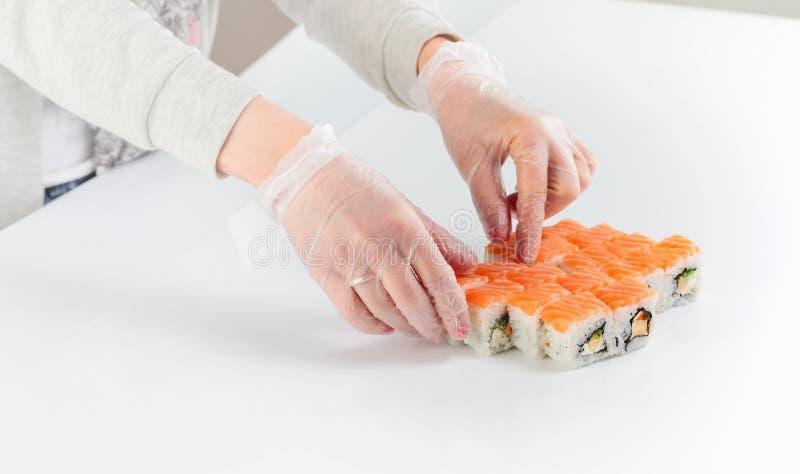 Tabell med skaldjur fotografering för bildbyråer