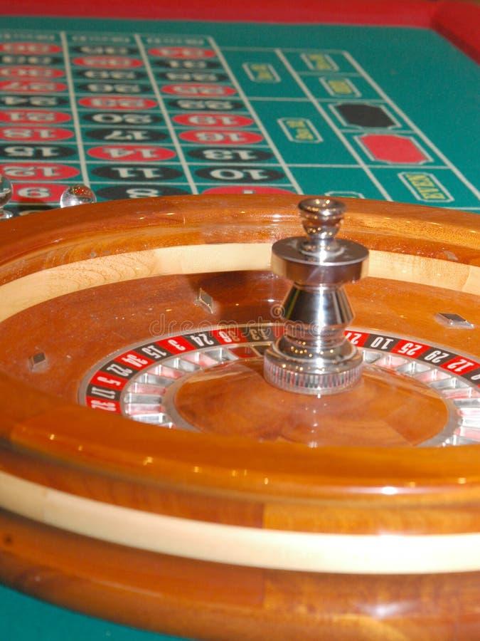 Tabella 3 delle roulette fotografia stock libera da diritti
