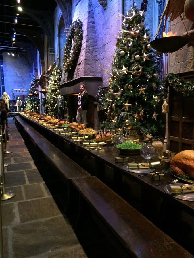 Tabella di Hogwarts fotografia stock libera da diritti