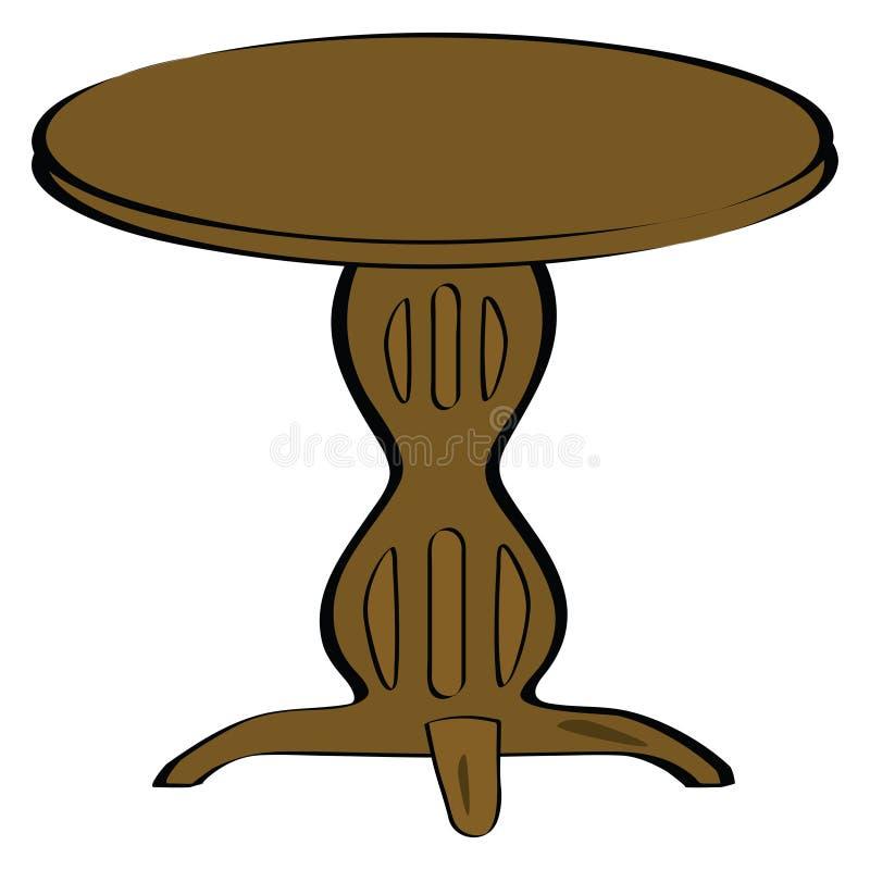 Tabella di legno royalty illustrazione gratis
