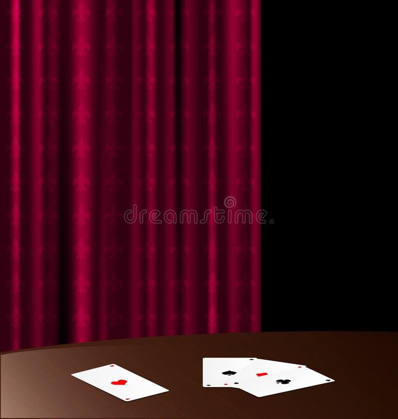 tabella e schede di legno royalty illustrazione gratis