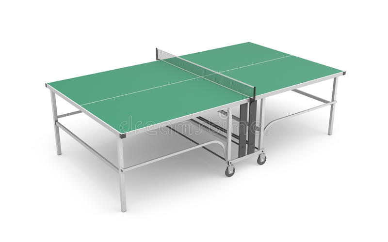 Tabella per ping-pong royalty illustrazione gratis