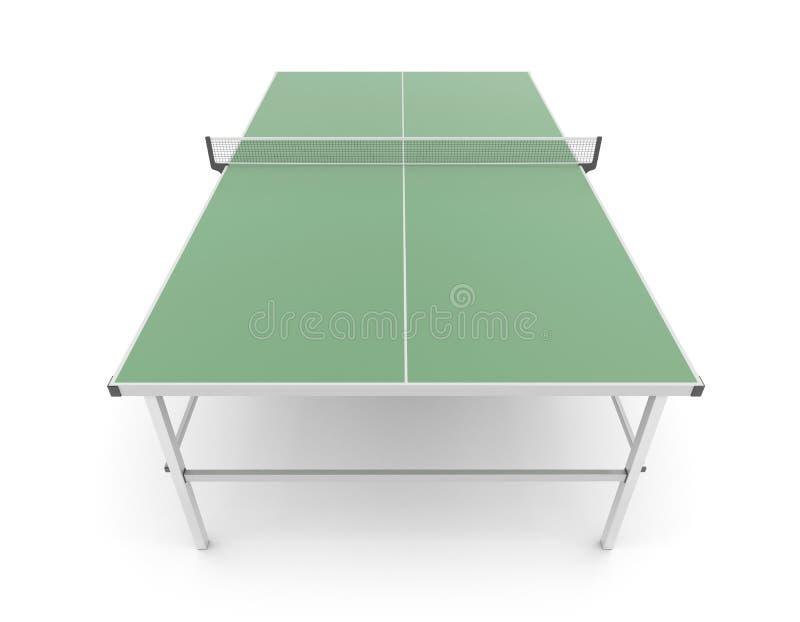 Tabella per ping-pong illustrazione vettoriale
