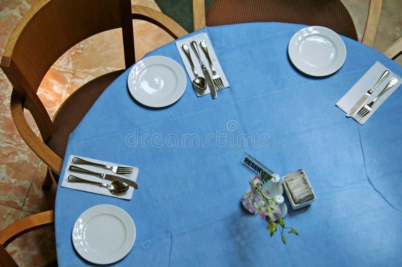 Tabella pranzante fotografie stock libere da diritti