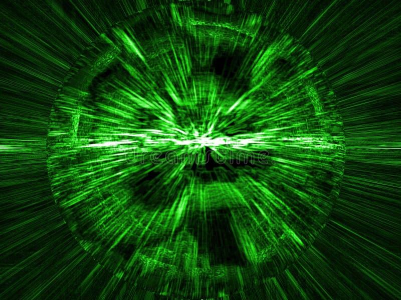 Tabella verde illustrazione di stock