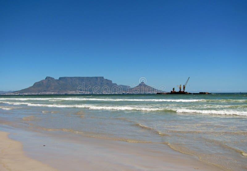 Tabellberg Sydafrika royaltyfria bilder