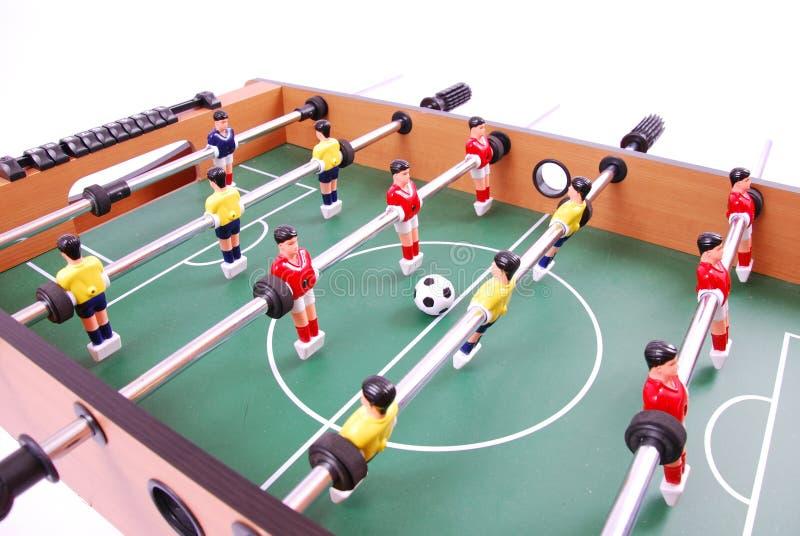 Tabellenfußball stockbilder