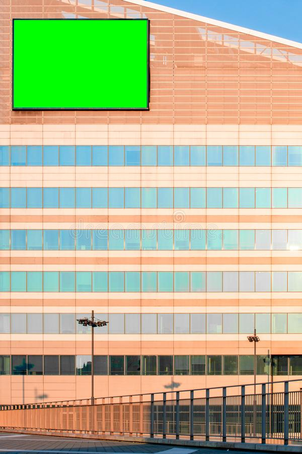 Tabellone per le affissioni con la chiave di intensità fotografie stock libere da diritti