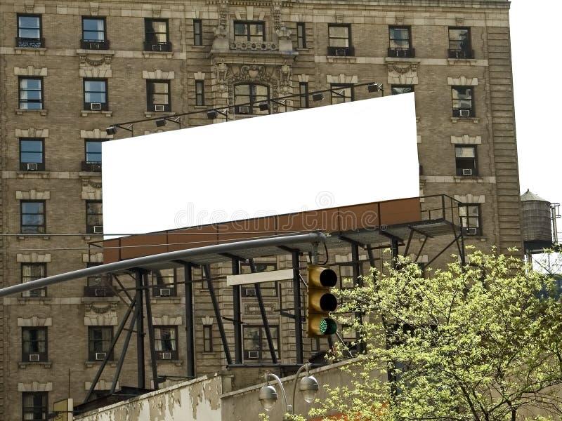 Tabellone per le affissioni della città fotografia stock libera da diritti