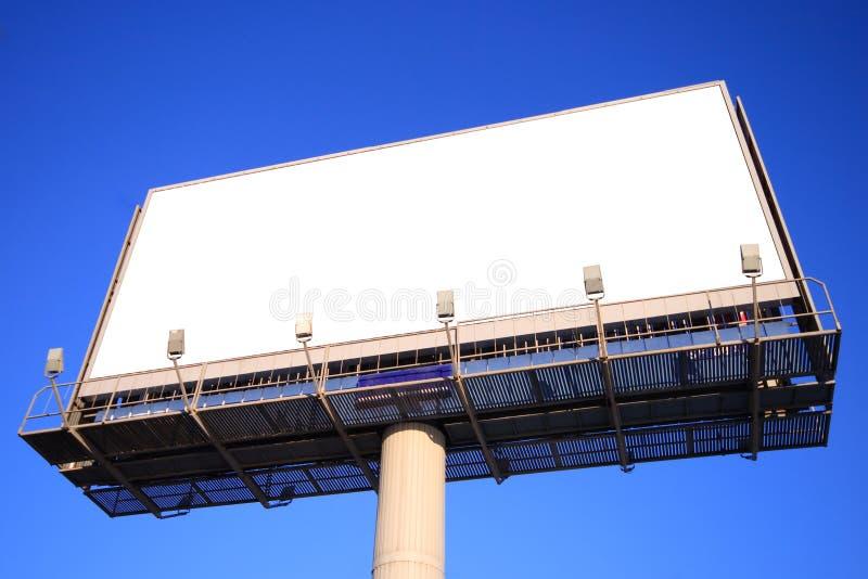 Tabellone per le affissioni di pubblicità esterna immagini stock