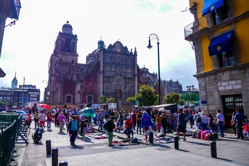 Tabernáculo metropolitano, Cidade do México imagem de stock royalty free