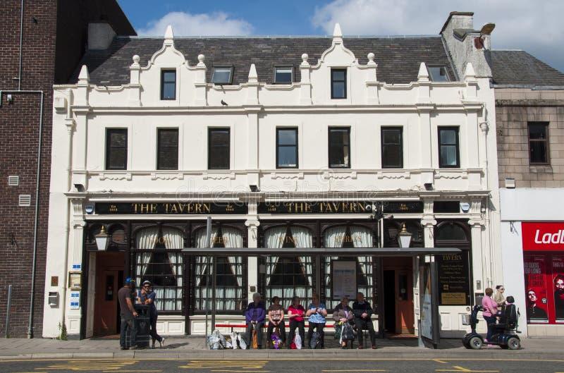 A taberna Perth Escócia imagem de stock royalty free