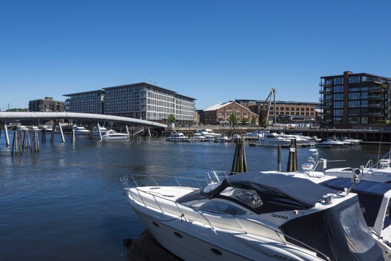 Taberna Strondheim del puerto de la huésped foto de archivo