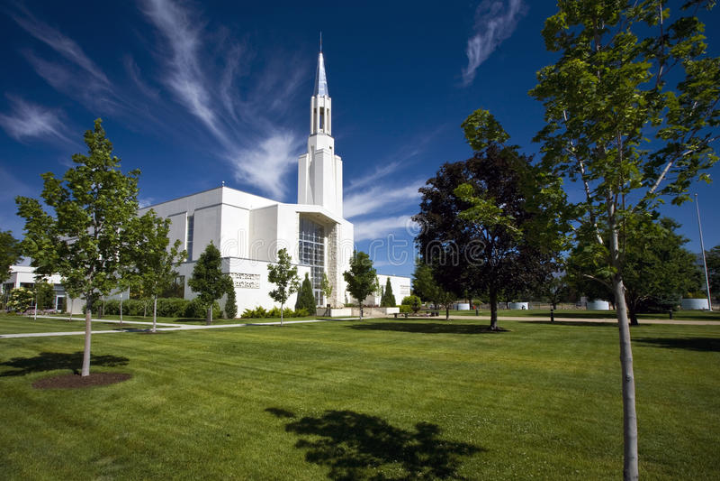 Tabernacle Ostatni dni święty, Ogden, Utah obraz stock