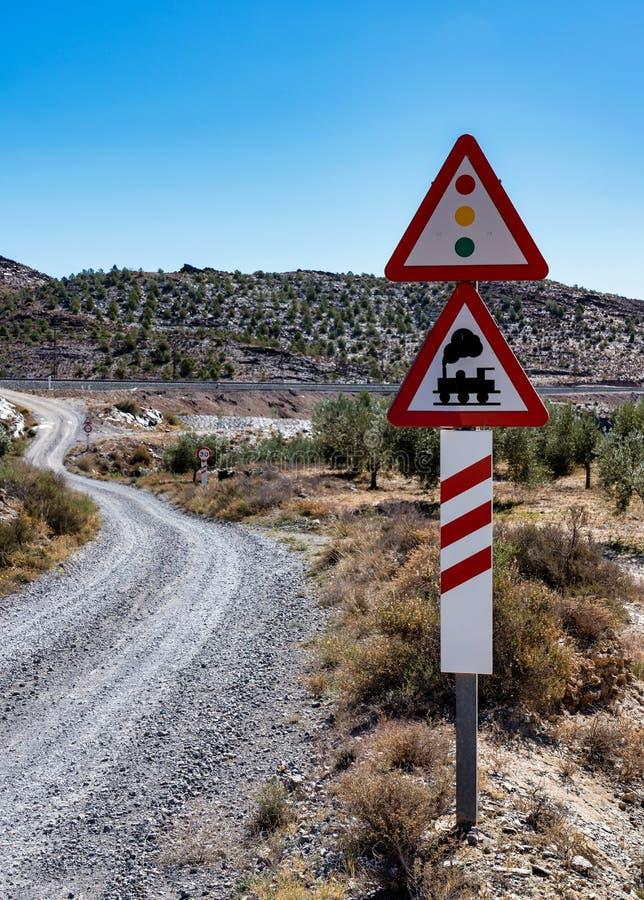 Tabernas dezerteruje, w hiszpa?skim Desierto de Tabernas, Andalusia, Hiszpania obrazy stock