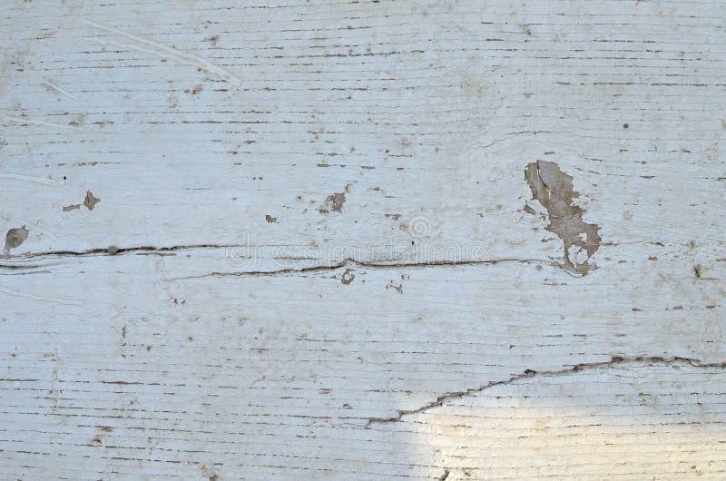 Tablón de madera blanco fotografía de archivo libre de regalías