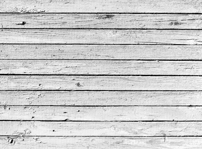 Tablón de madera blanco y negro secado fotos de archivo