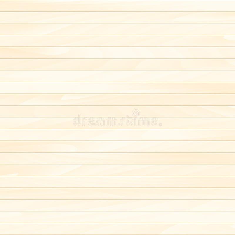 Tablón de madera del vector stock de ilustración